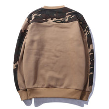 Load image into Gallery viewer, Camo sleeve sweatshirt