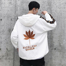 Load image into Gallery viewer, Maple leaf windbreaker jacket