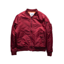 Load image into Gallery viewer, Basic bomber jacket thin/thick ver.