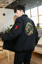 Load image into Gallery viewer, Dragon sphere bomber jacket
