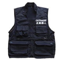 Load image into Gallery viewer, Outrage pocket vest