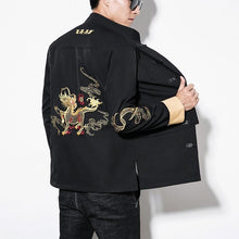 Load image into Gallery viewer, Golden lion Tang jacket