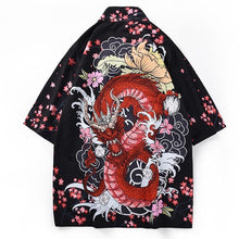 Load image into Gallery viewer, Eastern dragon kimono
