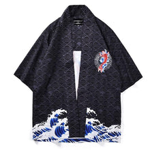 Load image into Gallery viewer, Jumping carp kimono
