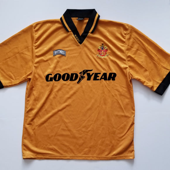 1995-96 Wolves Home Shirt (X-Large)