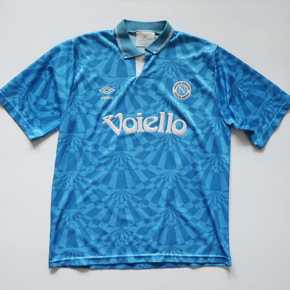 1991-93 Napoli Home Shirt (Medium)