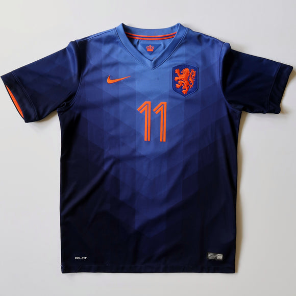 2014 Netherlands Away Shirt - Arjen Robben (YOUTH XL)