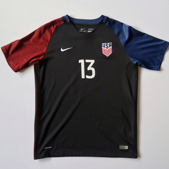 2016-17 USA Away Shirt - Jermaine Jones (Youth XL)