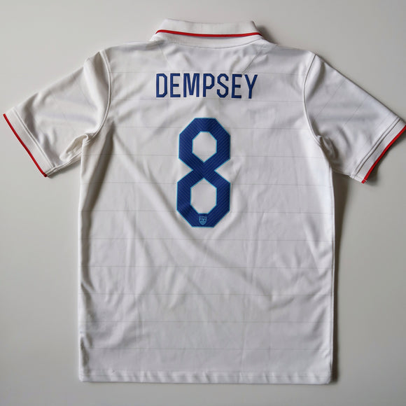 2014-15 USMNT Home Shirt - Clint Dempsey (YOUTH XL)