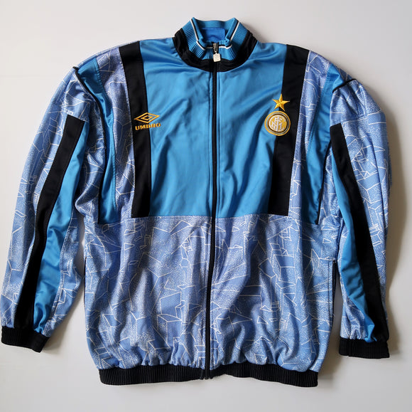 90s Inter Milan Track Jacket (XL)