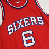 1980s Philadelphia Sixers Away Jersey - Julius Erving aka Dr. J (MEDIUM/SMALL)