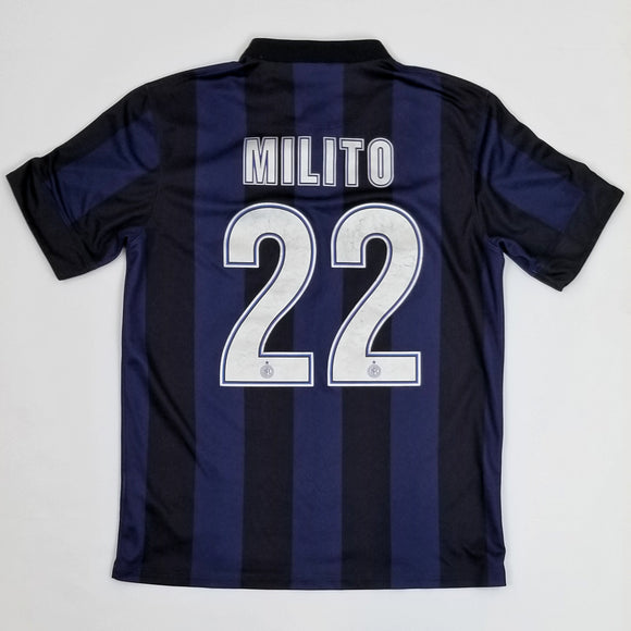 2013-2014 Inter Milan Home Shirt - Diego Milito