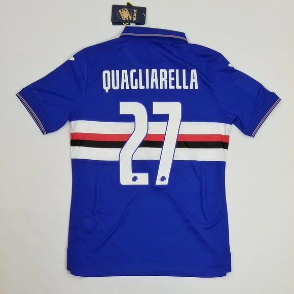 2019-2020 Sampdoria Home Shirt - Fabio Quagliarella (SMALL)