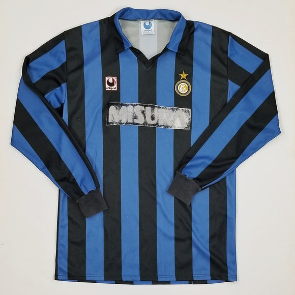 1990-91 Inter Milan Home Shirt (XL)