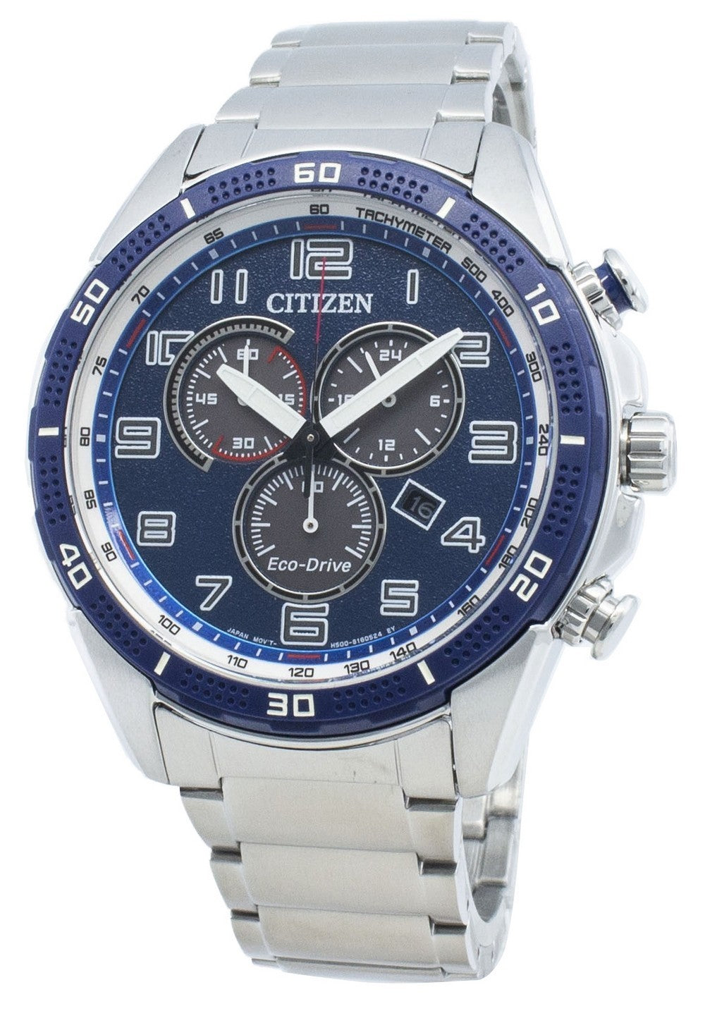 Citizen AR AT2440-51L Eco-Drive Tachymeter Men's Watch