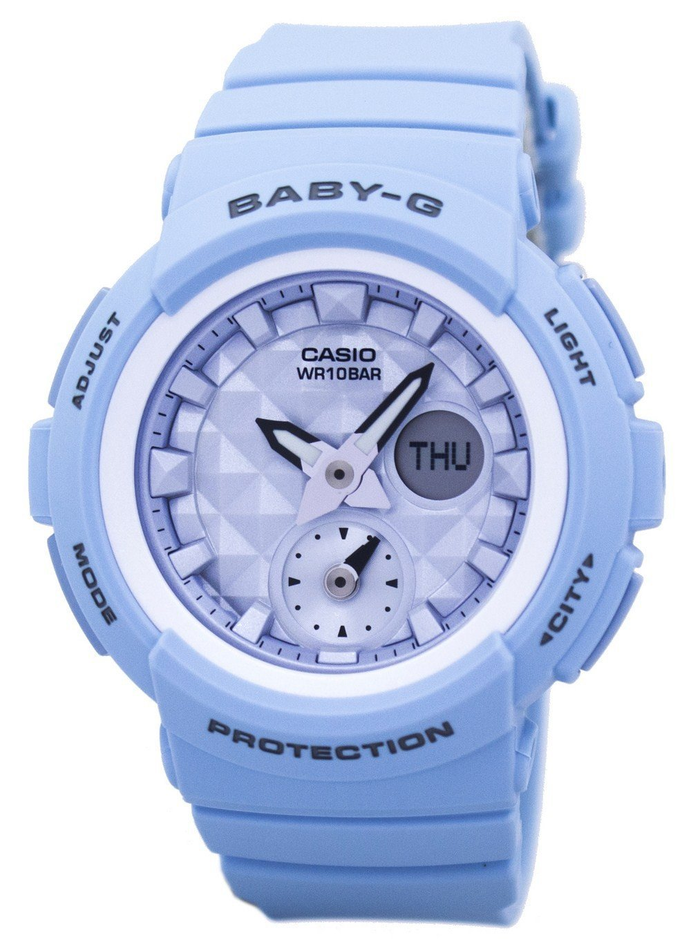 Casio Baby-G Shock Resistant  World Time Analog Digital BGA-190BE-2A BGA190BE-2A Women's Watch