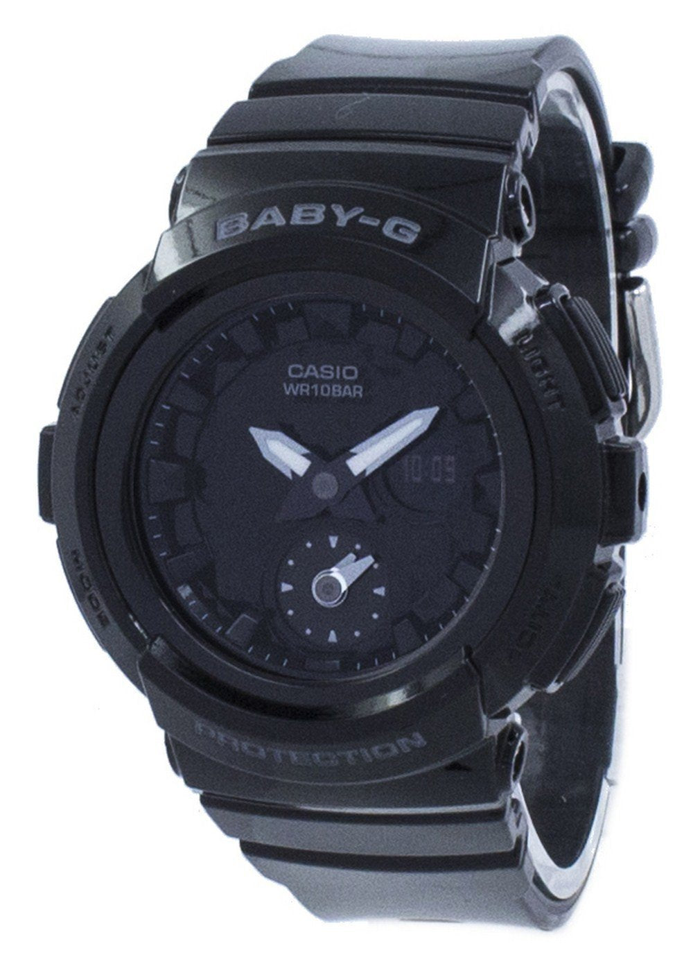 Casio Baby-G Shock Resistant  Analog Digital BGA-195-1A BGA195-1A Women's Watch