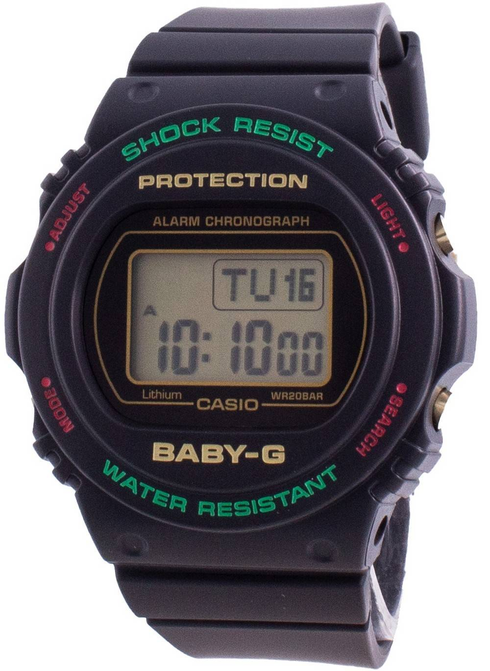 Baby-G BGD-570TH-1 Shock Resistant 200M Women's Watch