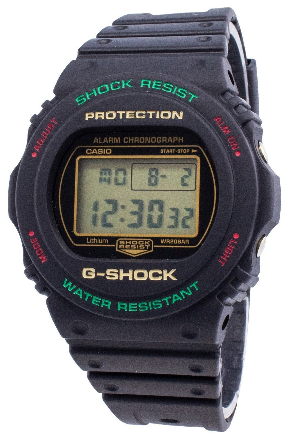 G-Shock DW-5700TH-1 Quartz 200M Men's Watch