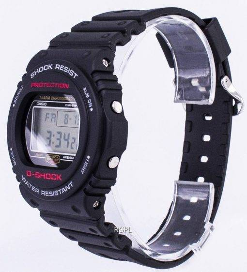 Casio G-Shock Chronograph Alarm 200M Digital DW-5750E-1D DW5750E-1D Men's Watch