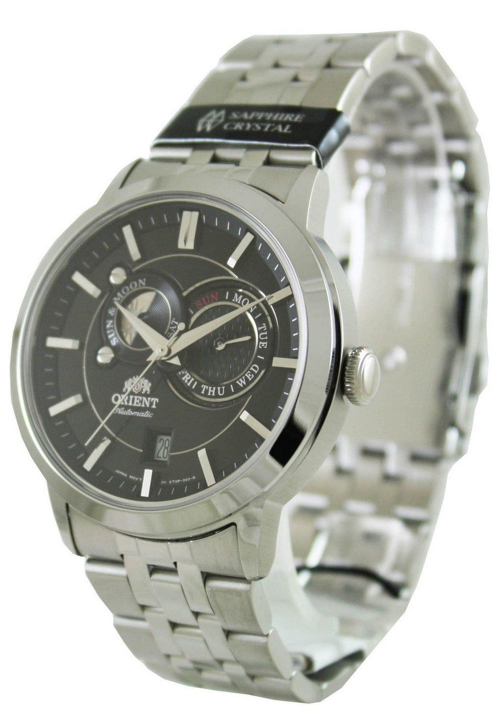 Orient Automatic Sun And Moon FET0P002B0 ET0P002B Men's Watch