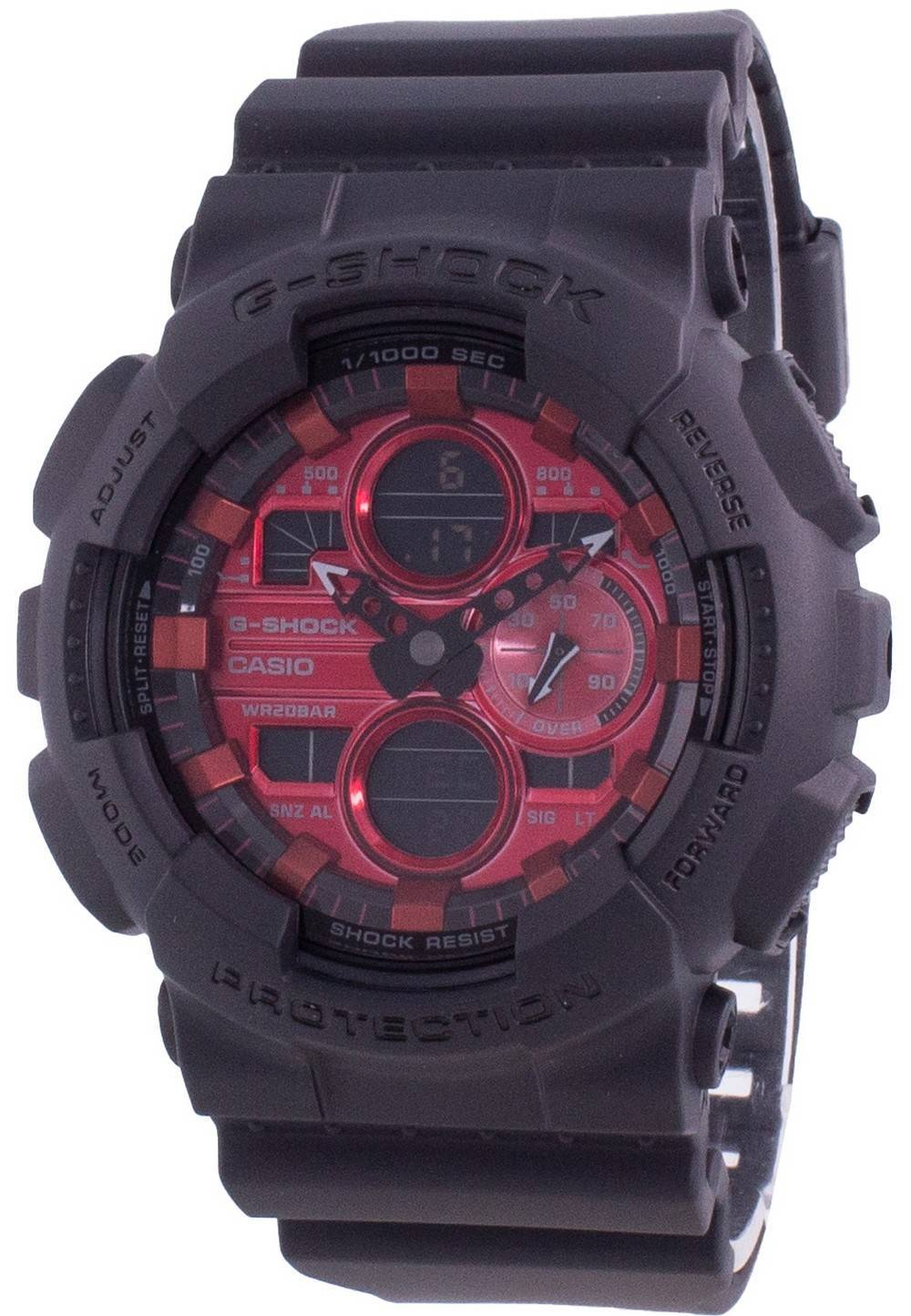 G-Shock GA-140AR-1A Quartz Shock Resistant 200M Men's Watch