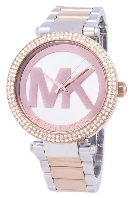 2ec1a409c85b Michael Kors Parker Diamond Accents Quartz MK6314 Women s Watch