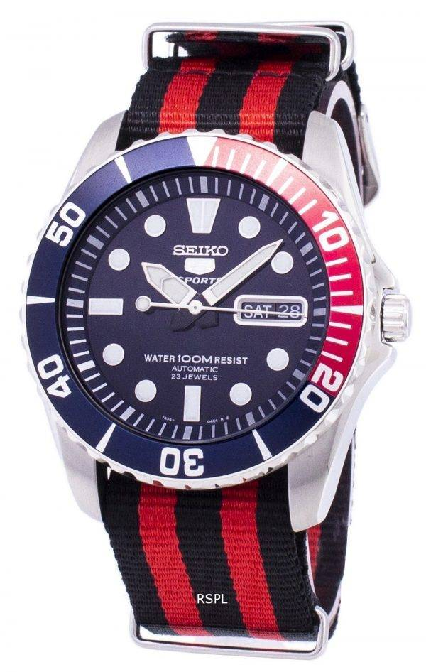 Seiko 5 Sports Automatic Nato Strap SNZF15K1-NATO3 Men's Watch