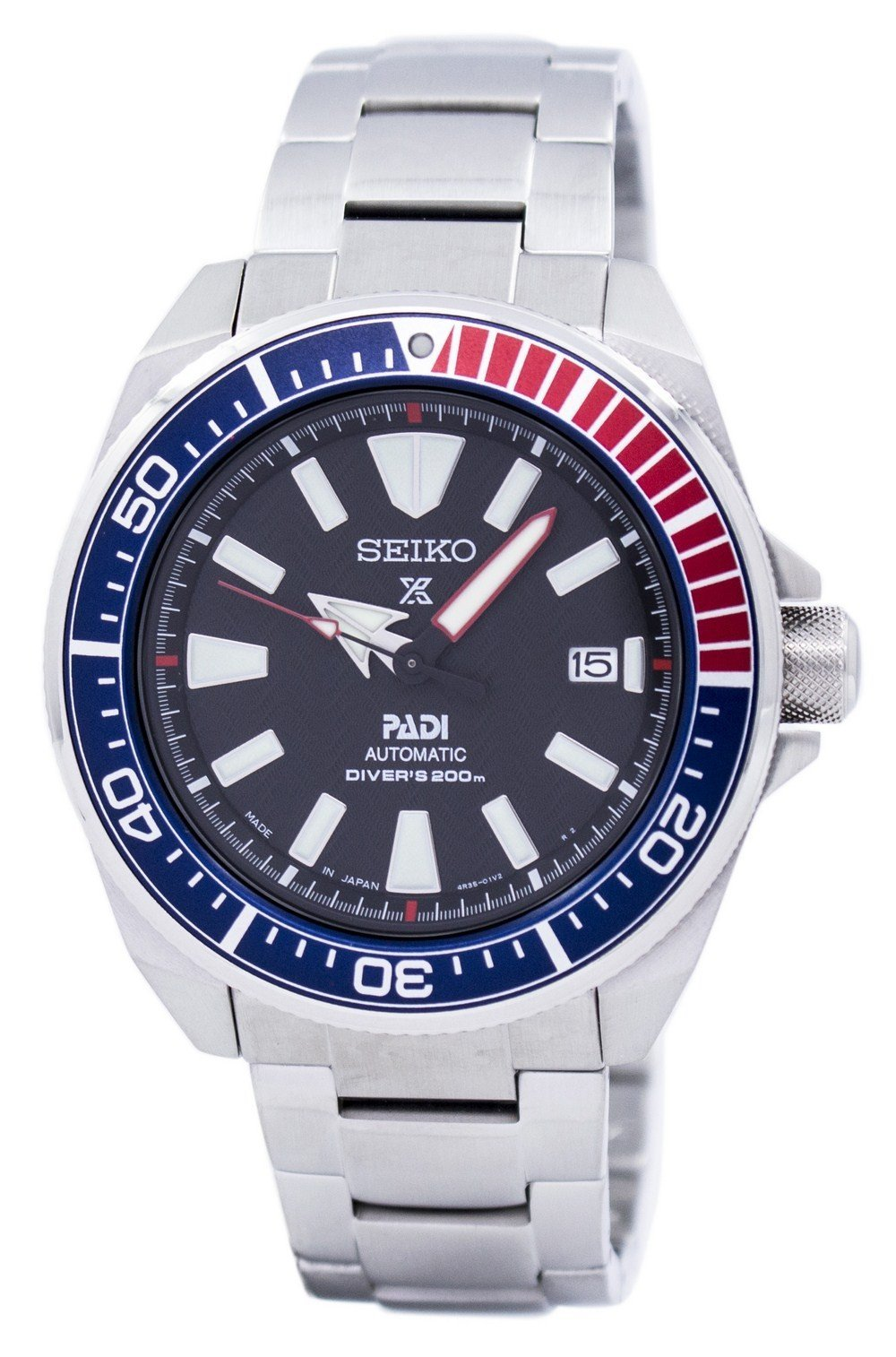 Seiko Prospex Padi Automatic Diver's Japan Made SRPB99 SRPB99J1 SRPB99J Men's Watch