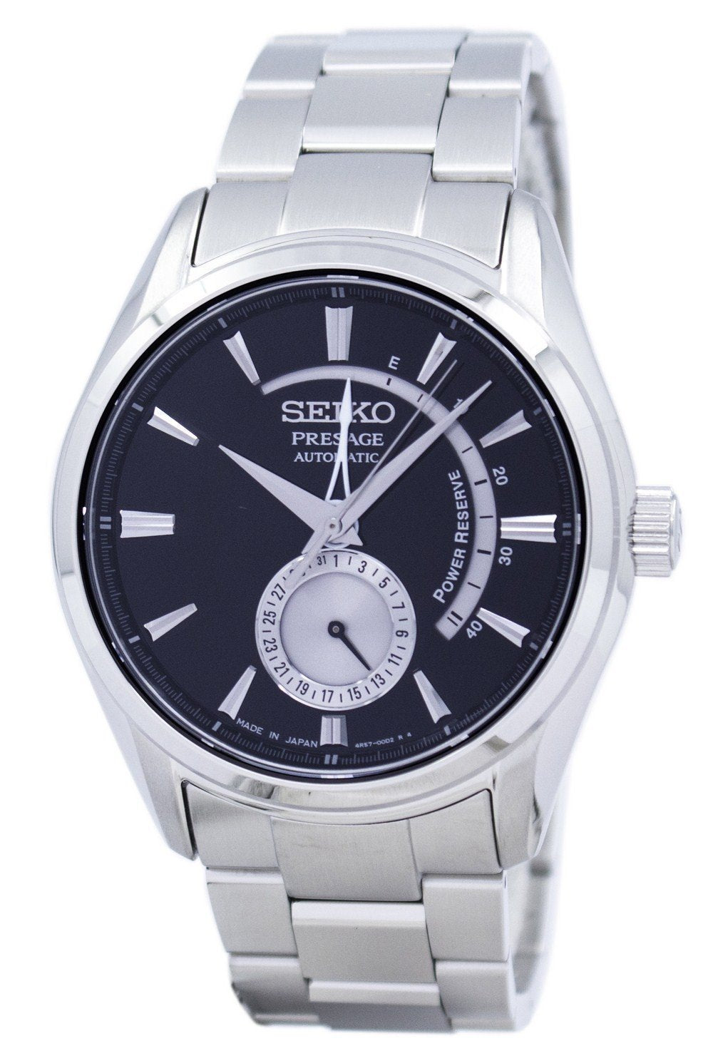 Seiko Presage Automatic Japan Made Power Reserve SSA351 SSA351J1 SSA351J Men's Watch