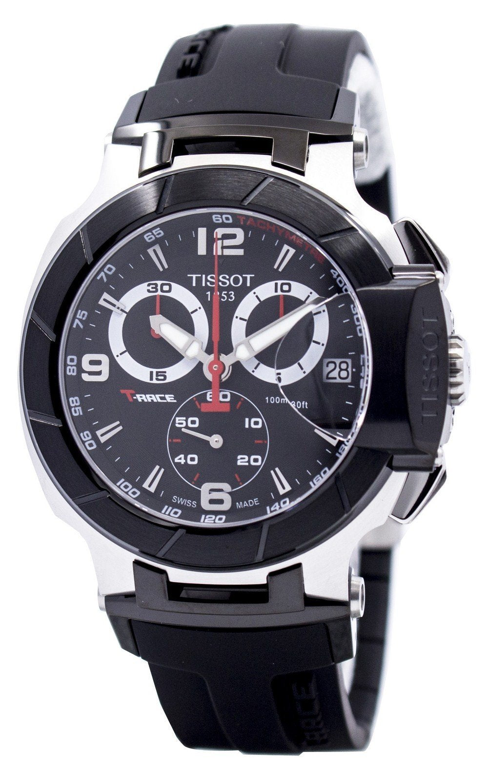 Tissot T-Race Chronograph T048.417.27.057.00 T0484172705700 Men's Watch