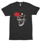 Skull in Cap Short sleeve soft t-shirt
