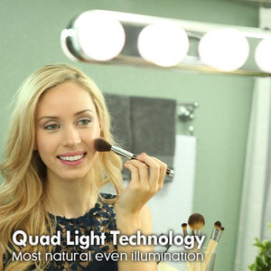 Image result for vanity mirror portable light bulbs