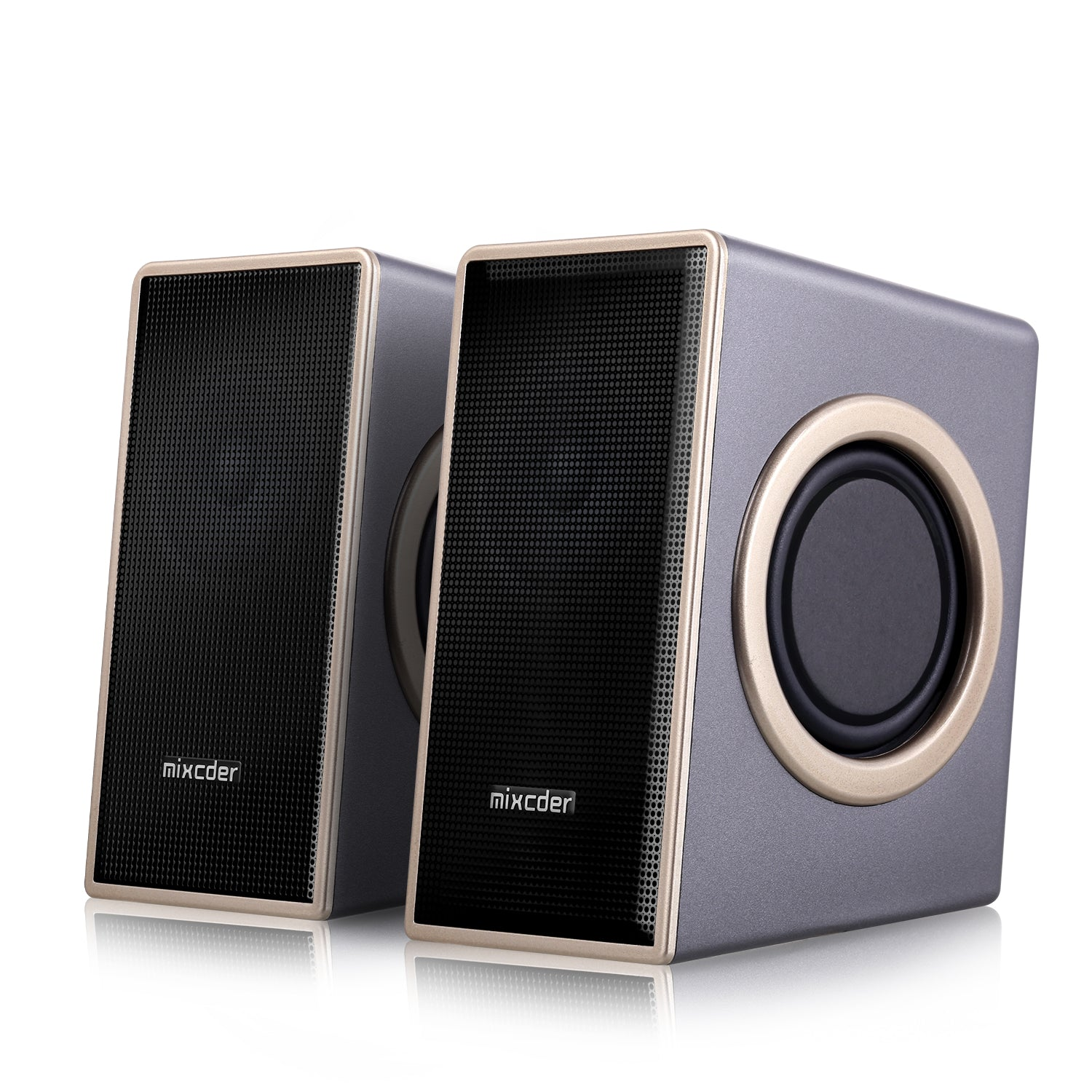 MSH169 USB 2.0 Powered Surround Subwoofer Multimedia Speaker