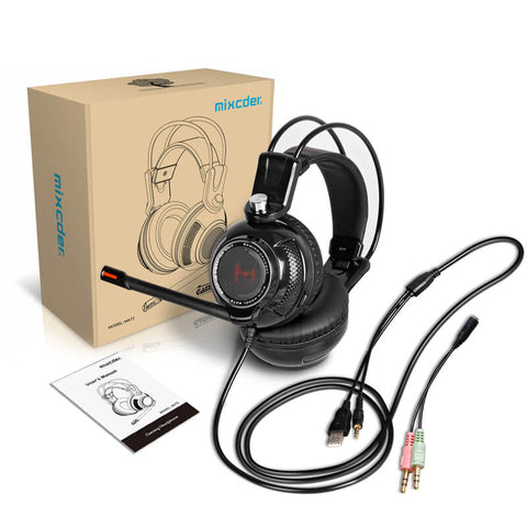 Mixcder MAT2 Gaming Headphones with Mic - Sell in USA Only