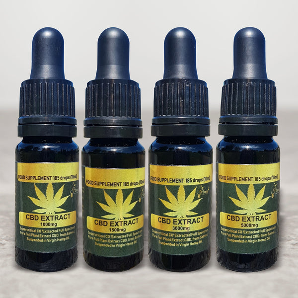 Organic Full Spectrum CBD oil