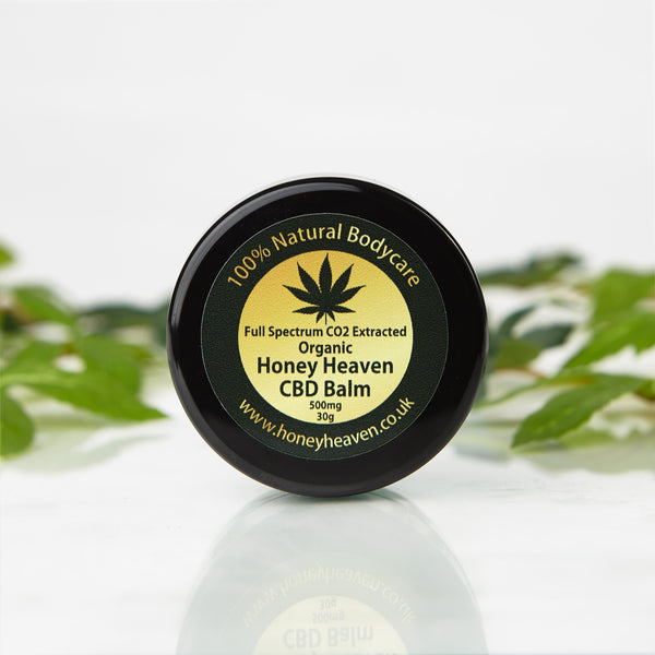 Full Spectrum CBD Balm 500mg-30g (CO2 extracted & Organic)