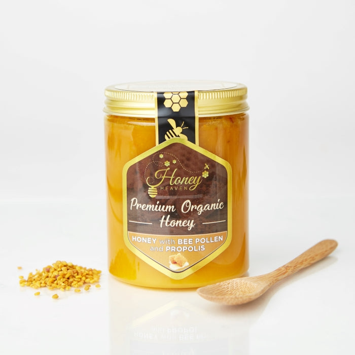 honey with pollen and propolis