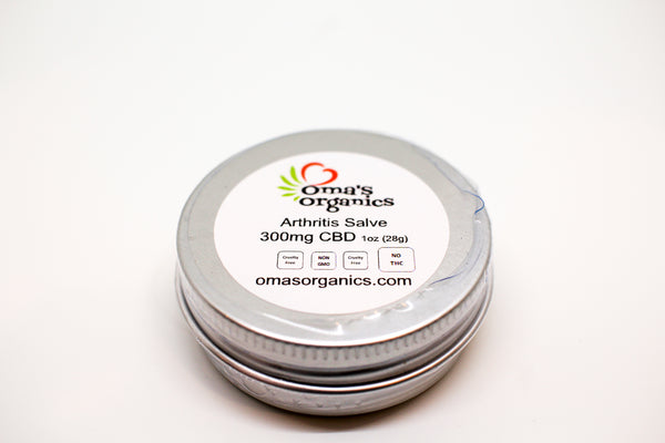 Arthritis Blend On the Go Pocket Salve (300mg)