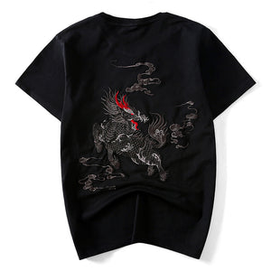 Multi Style Japanese Embroidered Shirt