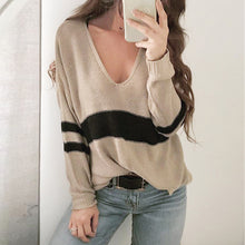 Load image into Gallery viewer, Soft V Neck Sweater