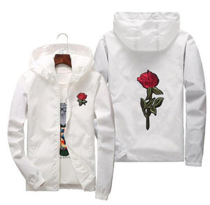 Rose Windbreaker