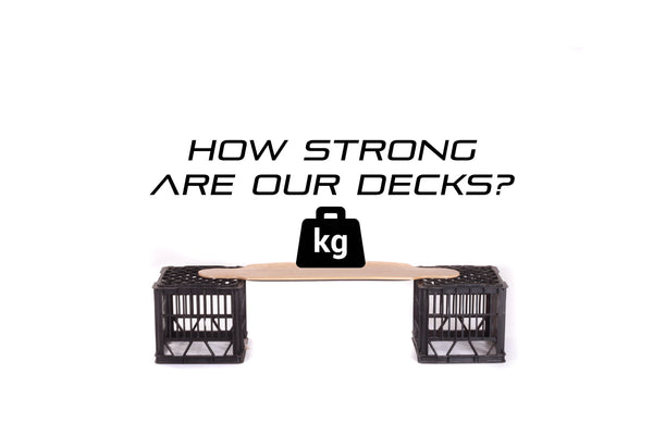 Black Hawk Deck Strength Test