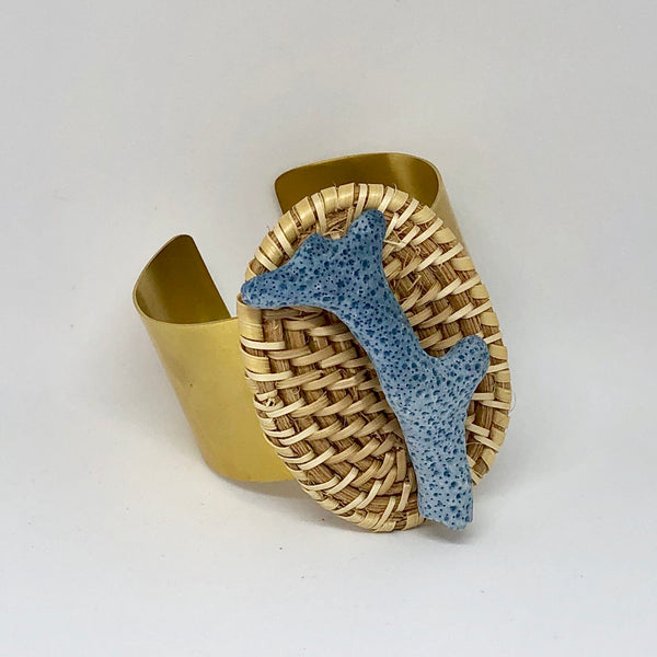 Blue Coral and Rattan