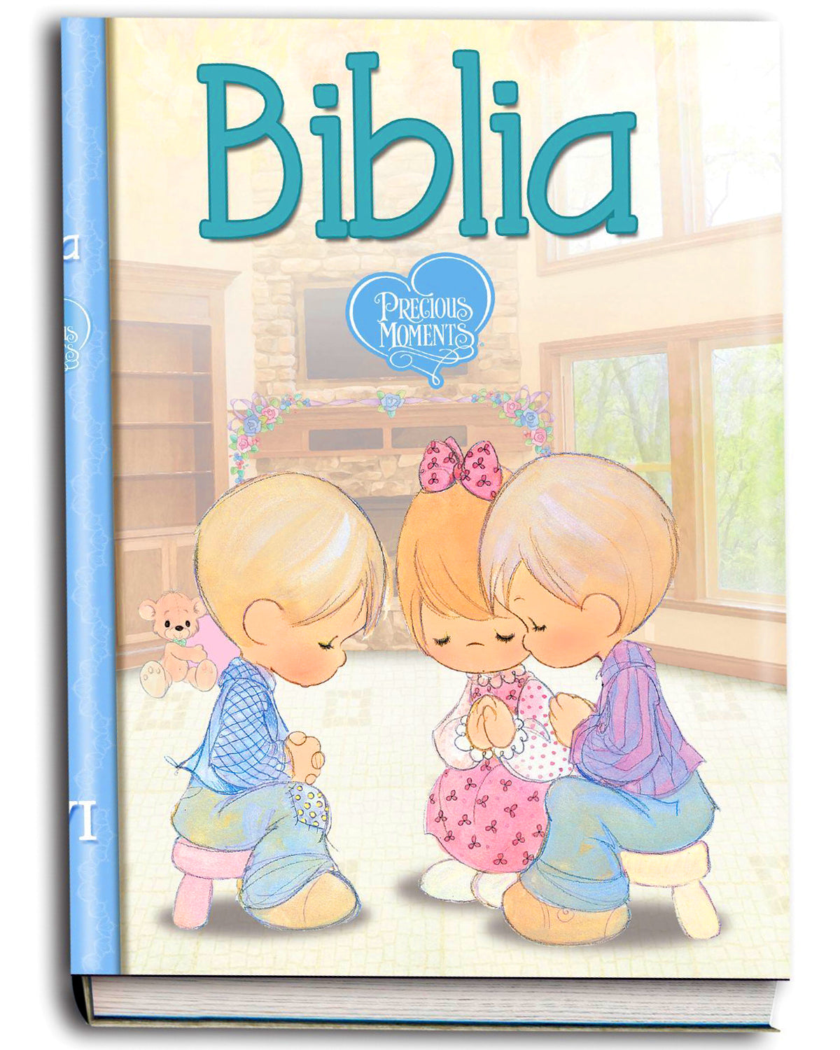 Biblia NVI Precious Moments Manual Tapa Dura