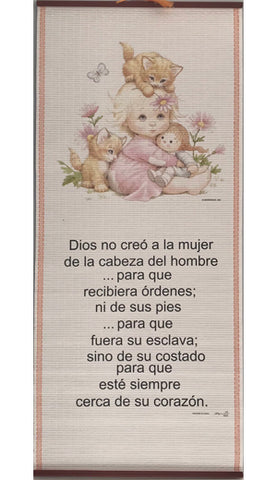 Dios no Creó-Pergamino/Wall Scroll
