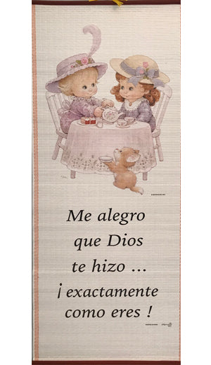 Me Alegro que Dios-Pergamino/Wall Scroll