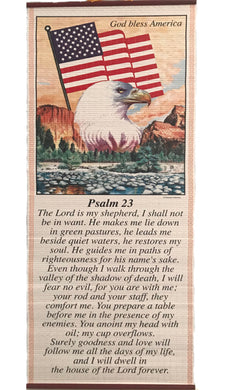 Psalm 23-Pergamino/Wall Scroll