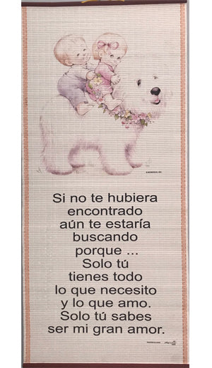 Si No Te Hubiera Encontrado-Pergamino/Wall Scroll