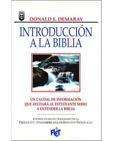 Introduccion A La Biblia (Flet)-Donald E. Demaray